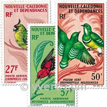 n° 88/90 -  Timbre Nelle-Calédonie Poste aérienne