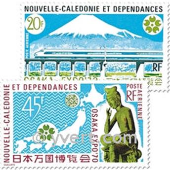 nr. 117/118 -  Stamp New Caledonia Air Mail