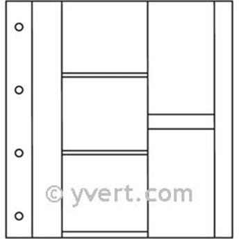 Recharges ALBUM CP LUXE : 3 cases horizontales + 2 verticales