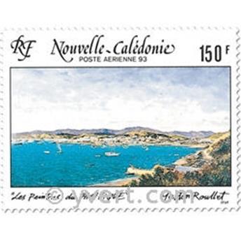 n° 296 -  Selo Nova Caledónia Correio aéreo