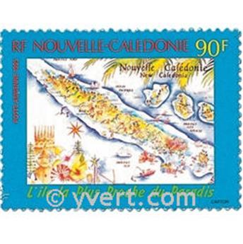 n.o 327 -  Sello Nueva Caledonia Correo aéreo