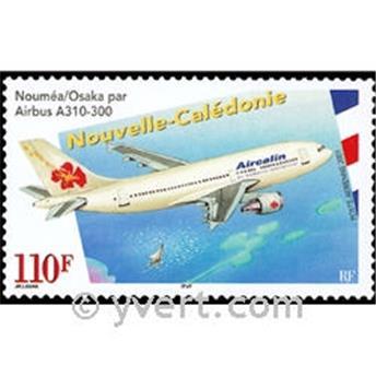 n° 349 -  Selo Nova Caledónia Correio aéreo