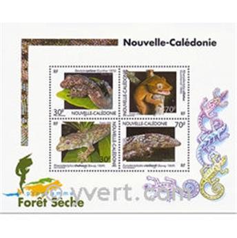 n.o 29 -  Sello Nueva Caledonia Bloque y hojitas