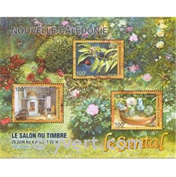 n° 33 -  Timbre Nelle-Calédonie Bloc et feuillets