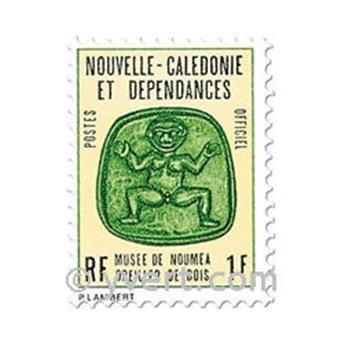 n° 14/20 -  Timbre Nelle-Calédonie De service