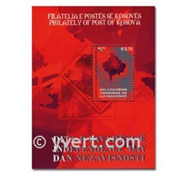 n° 2 -  Timbre Kosovo Blocs et feuillets