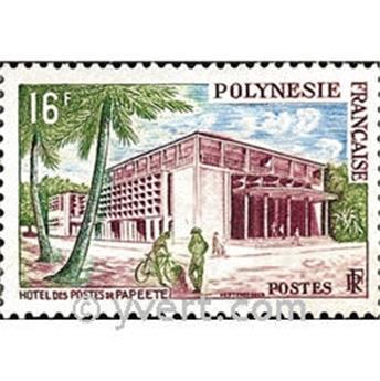 n° 14 -  Selo Polinésia Correios