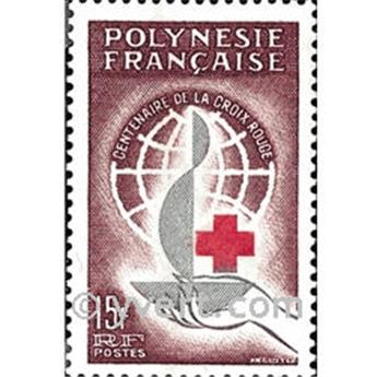 n° 24 -  Selo Polinésia Correios
