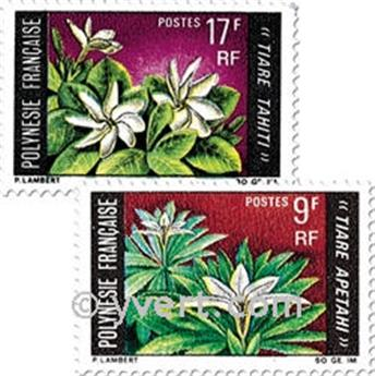 n° 64/65 -  Selo Polinésia Correios