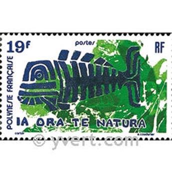 n° 105 -  Timbre Polynésie Poste