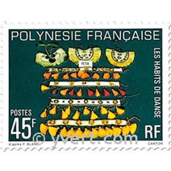 n° 138/140 -  Timbre Polynésie Poste