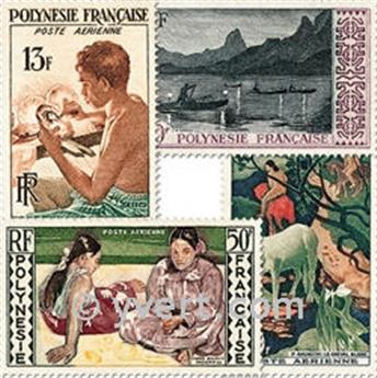 nr. 1/4 -  Stamp Polynesia Air Mail