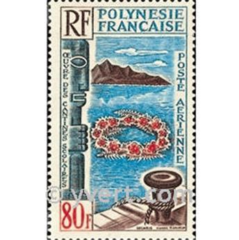 n° 15 -  Selo Polinésia Correio aéreo