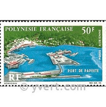 n° 20 -  Selo Polinésia Correio aéreo