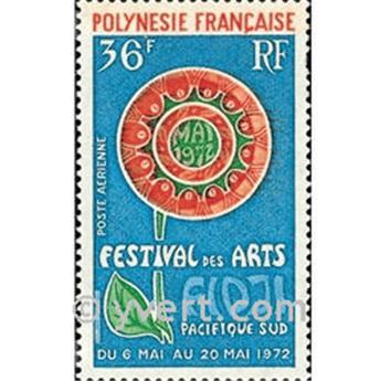 n° 63 -  Selo Polinésia Correio aéreo
