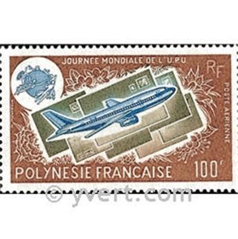 n° 97 -  Selo Polinésia Correio aéreo