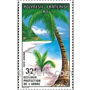 n.o 128 -  Sello Polinesia Correo aéreo