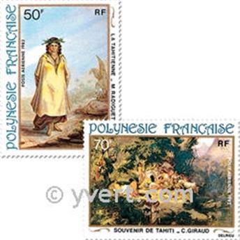 n° 170/173 -  Timbre Polynésie Poste aérienne