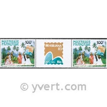 n° 176A -  Timbre Polynésie Poste aérienne