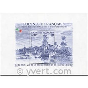 nr. 11 -  Stamp Polynesia Souvenir sheets