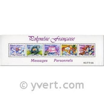 nr. 16 -  Stamp Polynesia Souvenir sheets