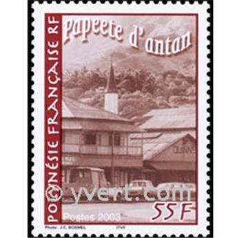 n.o 29 -  Sello Polinesia Bloque y hojitas