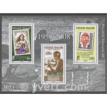 nr. 34 -  Stamp Polynesia Souvenir sheets