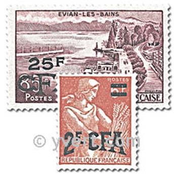 n° 331/341 -  Timbre Réunion Poste