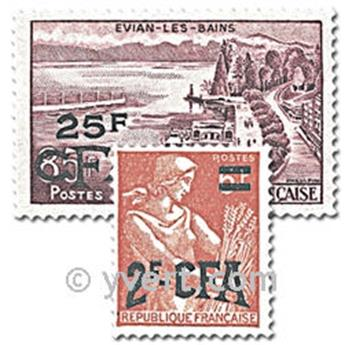 nr. 331/341 -  Stamp Reunion Mail