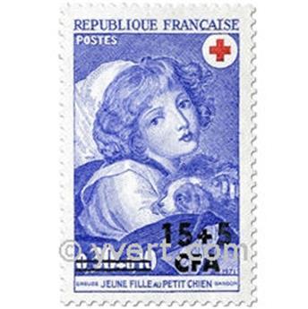 n° 406 -  Timbre Réunion Poste