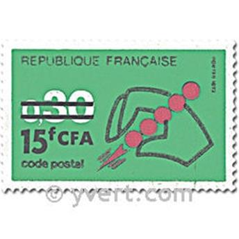 n° 410/411 -  Timbre Réunion Poste