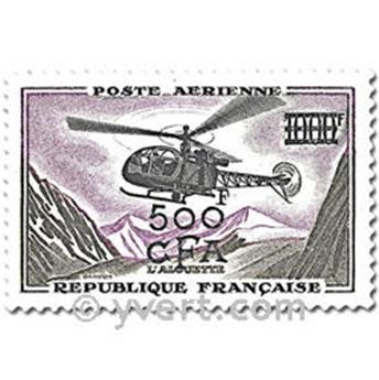 n° 56/57 -  Timbre Réunion Poste aérienne