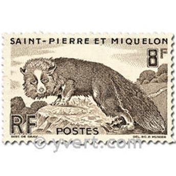 n.o 345/346 -  Sello San Pedro y Miquelón Correos
