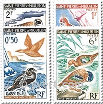n° 364/367 -  Timbre Saint-Pierre et Miquelon Poste