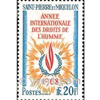 n° 384 -  Timbre Saint-Pierre et Miquelon Poste