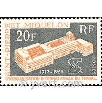 n° 398 -  Timbre Saint-Pierre et Miquelon Poste