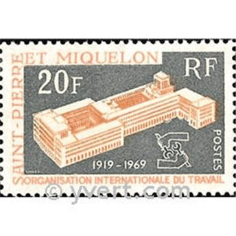 n.o 398 -  Sello San Pedro y Miquelón Correos