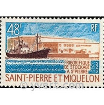 n° 406 -  Timbre Saint-Pierre et Miquelon Poste