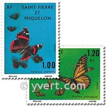 n.o 441/442 -  Sello San Pedro y Miquelón Correos