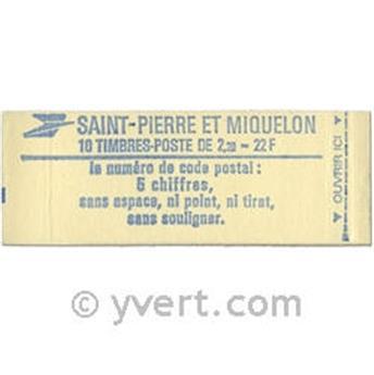 n.o C464a -  Sello San Pedro y Miquelón Correos