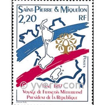 n.o 478 -  Sello San Pedro y Miquelón Correos