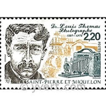n.o 488 -  Sello San Pedro y Miquelón Correos