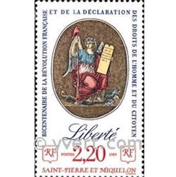 n° 499 -  Selo São Pedro e Miquelão Correios
