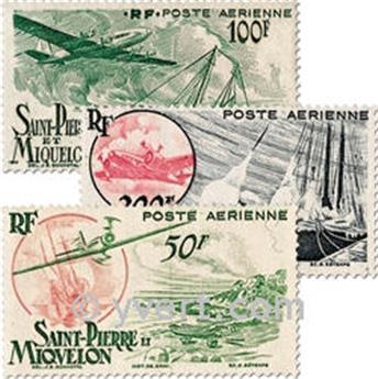 n.o 18 / 20 -  Sello San Pedro y Miquelón Correo aéreo
