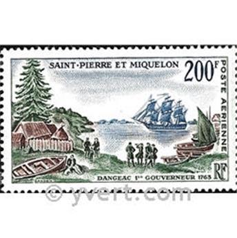 n.o 30 -  Sello San Pedro y Miquelón Correo aéreo