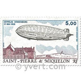 n.o 66 / 67 -  Sello San Pedro y Miquelón Correo aéreo