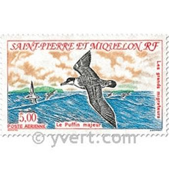 n.o 72 / 73 -  Sello San Pedro y Miquelón Correo aéreo