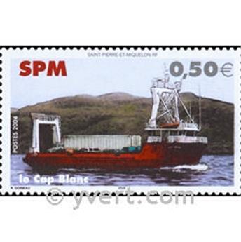 n° 10 -  Timbre Saint-Pierre et Miquelon Bloc et feuillets