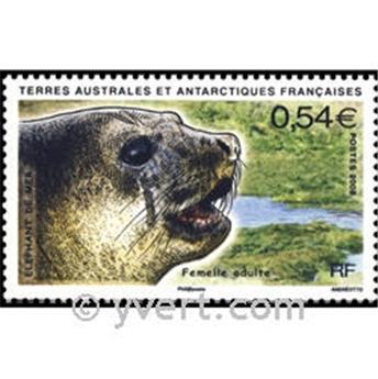 n.o 19 -  Sello Tierras Australes y Antárticas Francesas Bloque y hojitas