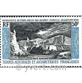n.o 8 -  Sello Tierras Australes y Antárticas Francesas Correo aéreo